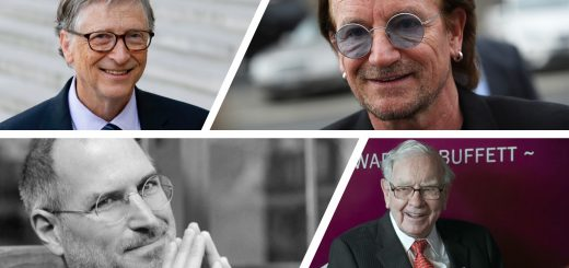 Bill Gates, Bono, Steve Jobs, Warren Buffet know how to focus