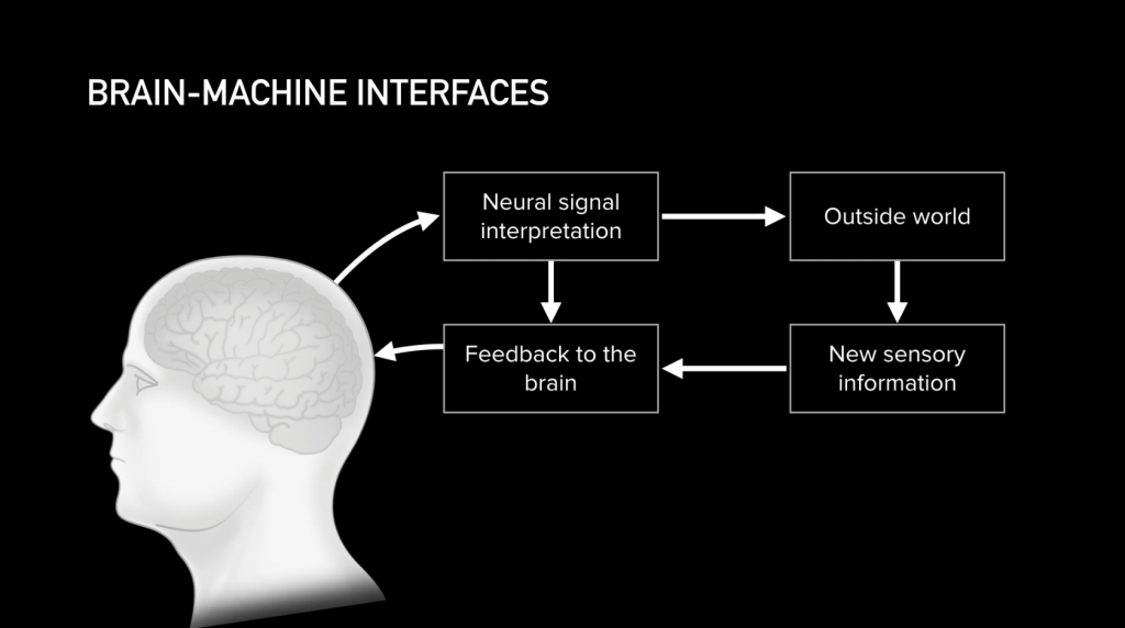 Brain Machine Interfaces - Read neural signals and transmit neural signals to the brain