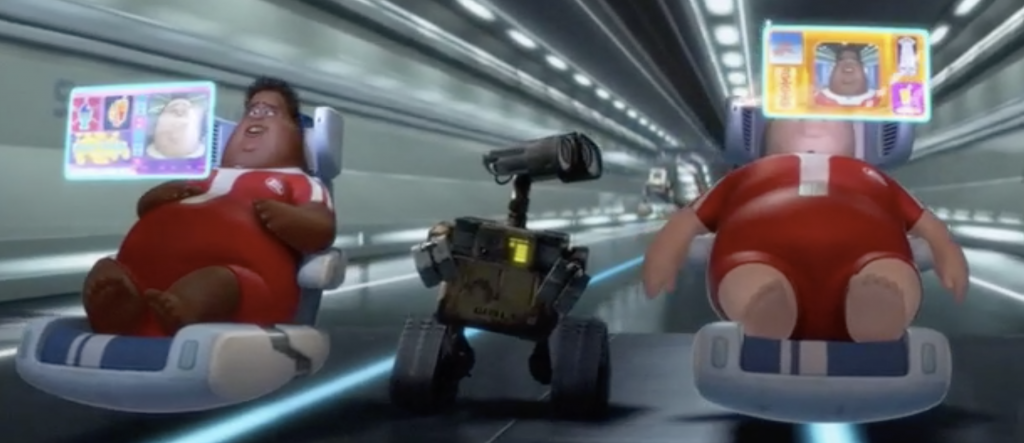 Walle experiences Human Dystopia
